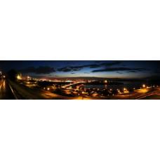 Фотообои - Ночной город
