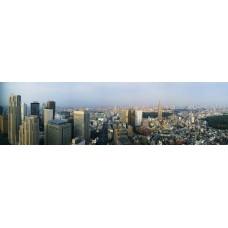 Фотообои - Скайлайн - Город будущего