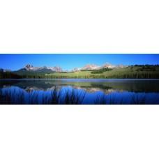 Фотообои - Озеро около гор