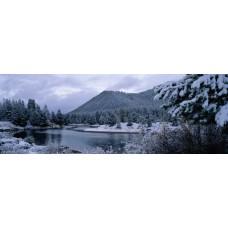 Фотообои - Зимний пейзаж