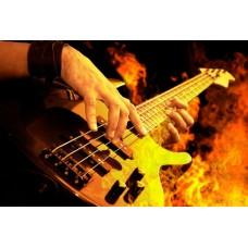 Фотообои - Басс-гитара