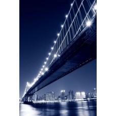 Фотообои - Ночной мост