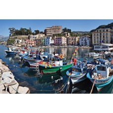 Фотообои - Лодки у пристани
