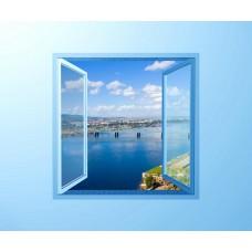 Фотообои - Синее окно