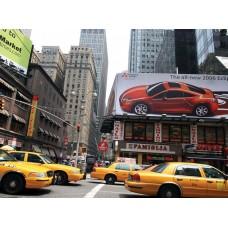 Фотообои - Желтое такси