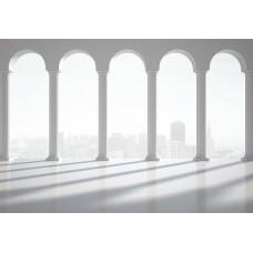 Фотообои - Белые колонны