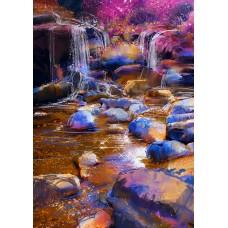 Фотообои - Камни в воде