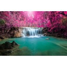 Фотообои - Розовые звезды