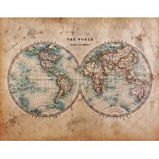 Фотообои - Карта на пергаменте