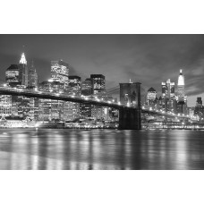 Фотообои - Нью Йорк. Черное и белое