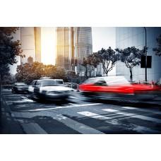 Фотообои - Автомобильный трафик