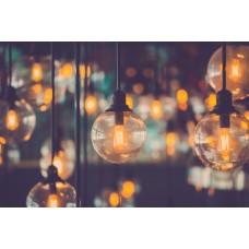 Фотообои - Ламповый свет